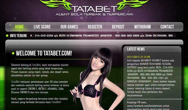 Tatabet, Sbo Casino, Taruhan Online