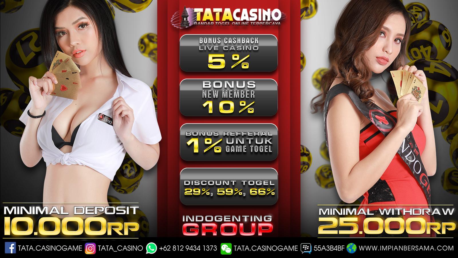 Casino Online , Tatacasino , Bandar Togel , Togel Online